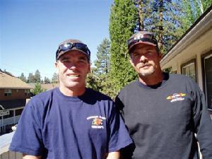 Pat Follett and Tom Spiegel