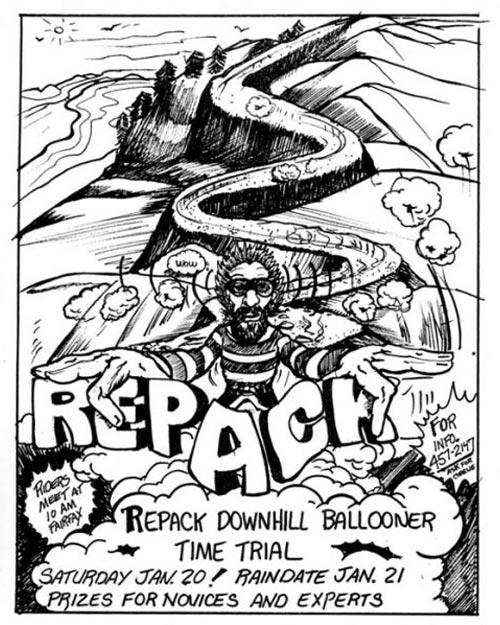 Repack Poster Closeup